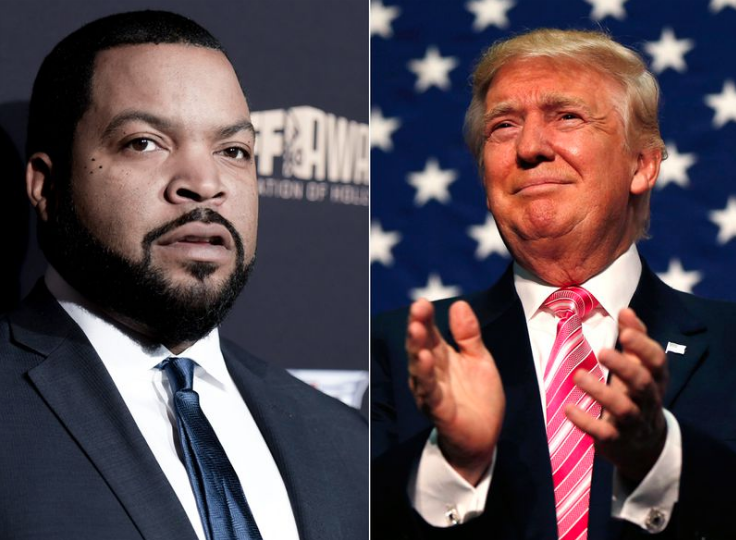 Ice Cube is Working to Help Donald Trump Get Reelected