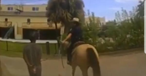 Black Man With Hand Tied to Rope, Led By Cops on Horseback, Sues for $1 Million