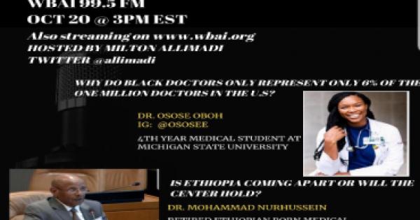 WBAI's Black Star News Show Interviews Dr. Osose Oboh, Dr. Mohammed Nurhussein