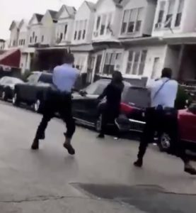 Video: Philadelphia Cops Shoot Black Man With Mental Health Issue In Broad Daylight at Least 15 Times Because He Had a Knife