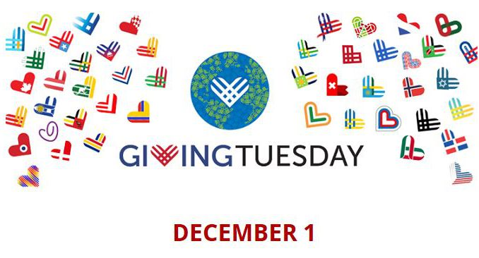 December 1st is GivingTuesday