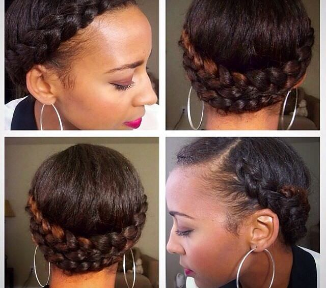 Four Sexy Natural Hair Styles For Bedtime