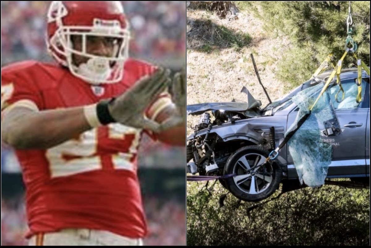 Ex-NFL RB Larry Johnson Has a Tiger Woods Conspiracy Theory