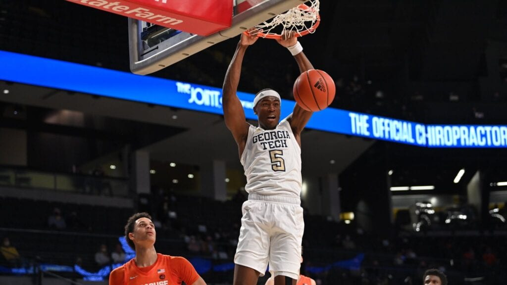 Georgia Tech pads tournament resume with 84-77 win over Syracuse