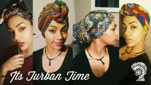 Head Wrap And Traditional Turban Tutorial
