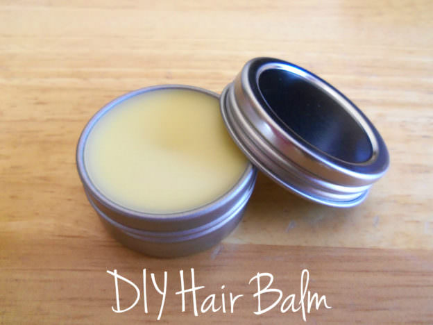 How To Make Your Own DIY Hair Balm