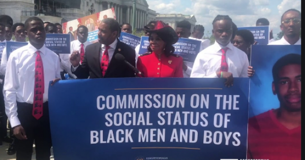 Lawmakers Call for Commission to Study Social Status of Black Men, Boys