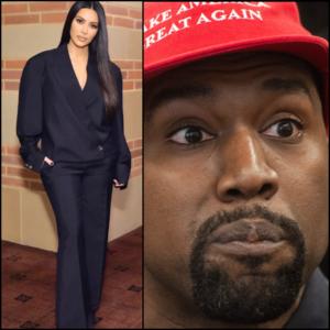 Kanye West Upset Media is Saying Kim Kardashian Left Him, When He Really Left Her