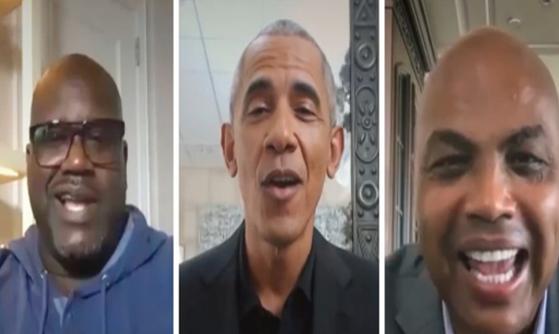 President Barack Obama Makes Fun Of Charles Barkley Weight; Says He Got Slim For Daughter Wedding