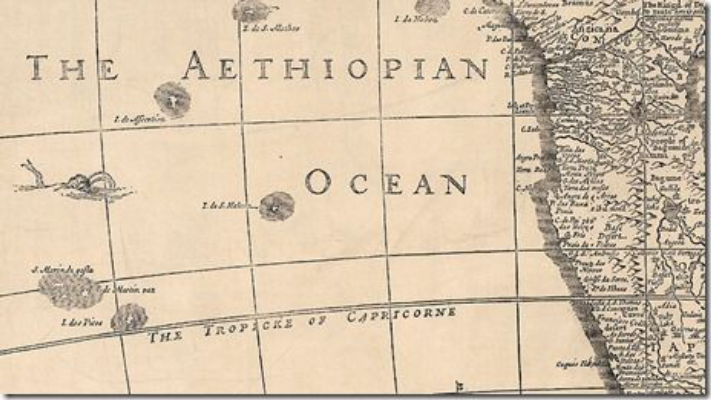 The Atlantic Ocean Was Once Known As The Ethiopian Sea