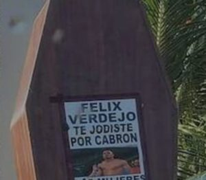 Coffin Left Near Boxer Felix Verdejo's Home After His Arrest For Murdering His Pregnant Mistress Keishla Marlen Rodriguez; Was His Wife Involved as Well?