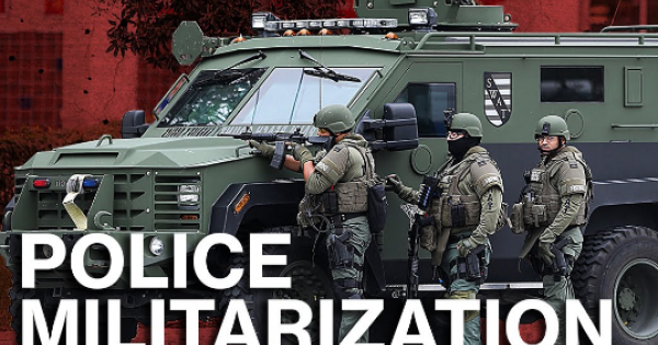 Militarized American Policing is Costing Black Lives