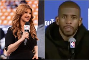 Rachel Nichols Goes Viral For Asking Chris Paul How Does It Feel to Lose in Finals