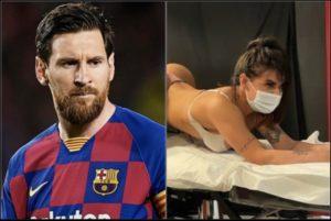 Miss Bum Bum Suzy Cortez Get An Anus Tattoo Honoring Lionel Messi After Argentina Wins Copa America