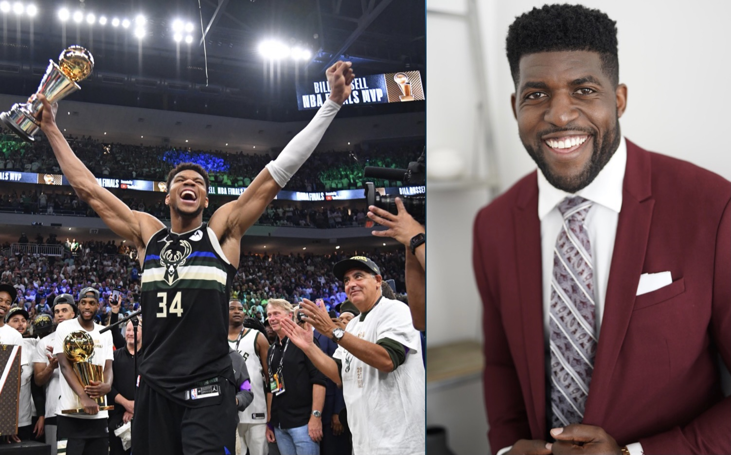 FS1 Emmanuel Acho Says Giannis Antetokounmpo Can't Be The Face Of The NBA Because His Nigerian and Isn't Relatable