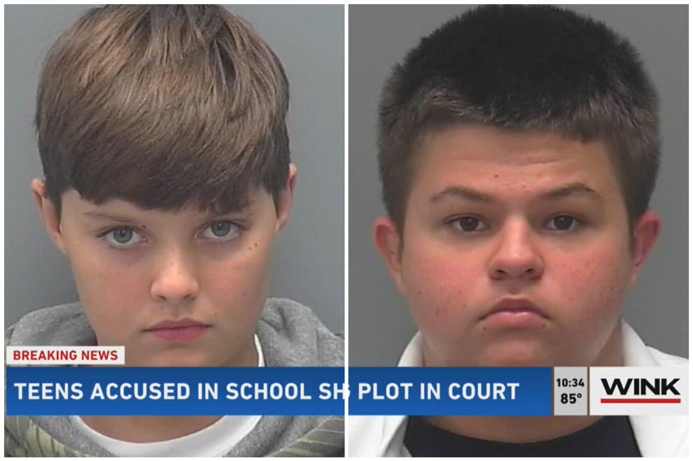 Two Florida 8th Graders Philip Byrd and Conner Pruett Arrested For Planning Columbine-Style School Shooting