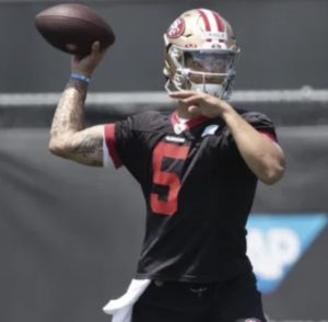 49ers' Rookie Quarterback Could Be Ready to Upstage Garoppolo