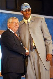 Watch Carmelo Anthony Tell The Story About When He First Found Out That David Stern And The NBA Were The Feds