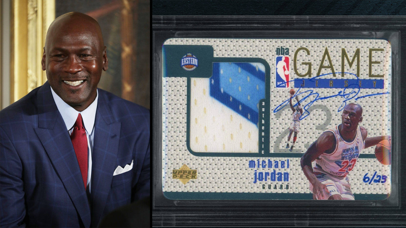 Historic Patch Card Signed By Michael Jordan Sells For A Record-Breaking $2.7M